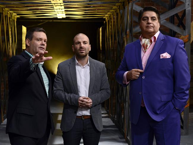 Judges Gary Mehigan, George Calombaris and Matt Preston.