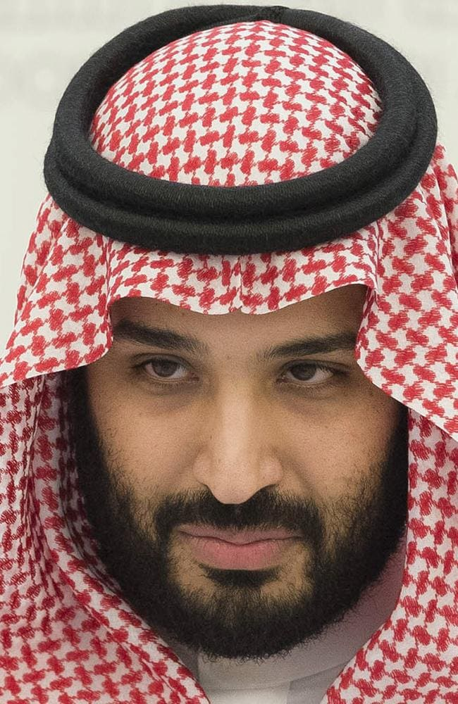 New heir to the throne and Saudi Defence Minister Crown Prince Mohammed bin Salman whose father ousted his cousin in April.