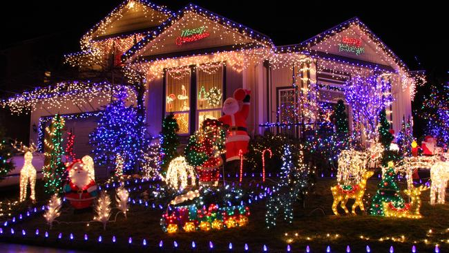 It might be the year not to enter the Christmas light competition if you are selling. Picture: Thinkstock