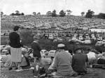 A huge crowd at the Easter Oakbank race meeting in 1954.