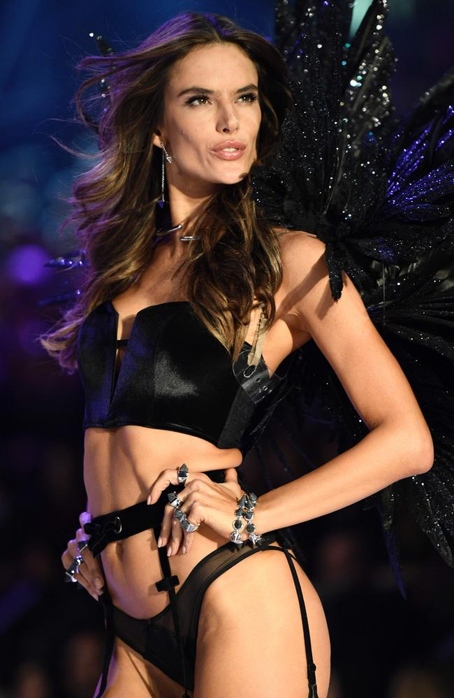 Brazilian model Alessandra Ambrosio will be back on the runway this year. Picture: AFP