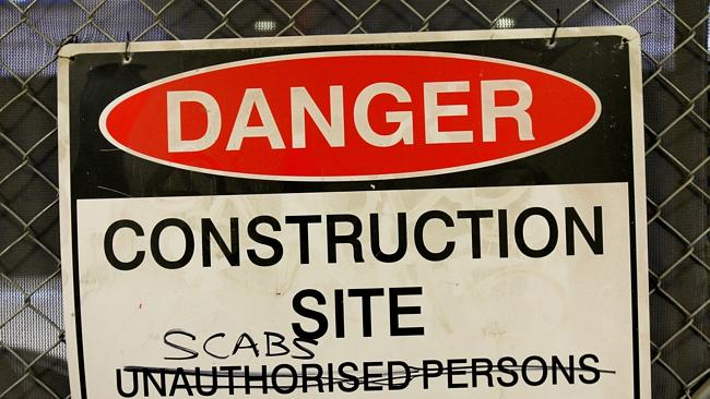 Prime Minister Tony Abbott said the claims of corruption reinforced the need to re-establish the Australian Building and Construction Commission.