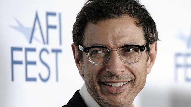 Alive and well ... Jeff Goldblum has been a victim of a death hoax.