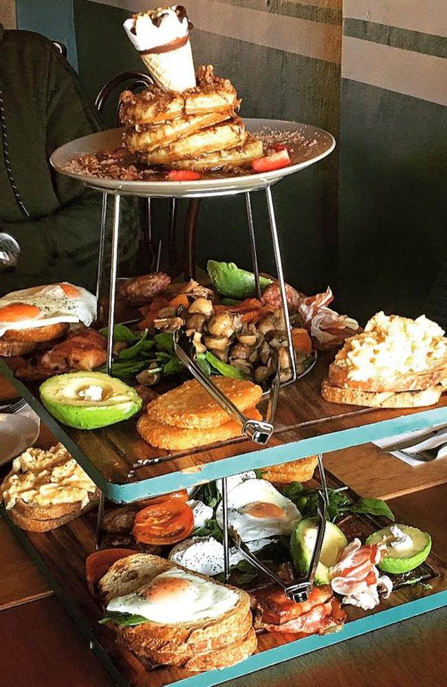 82 Best Ostara Tarot Images On Pinterest: Platform Eighty Two Cafe: Epic Breakfast Tower Wins The