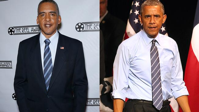 NO WE CAN'T was our first thought when we saw this Barack Obama impersonator.