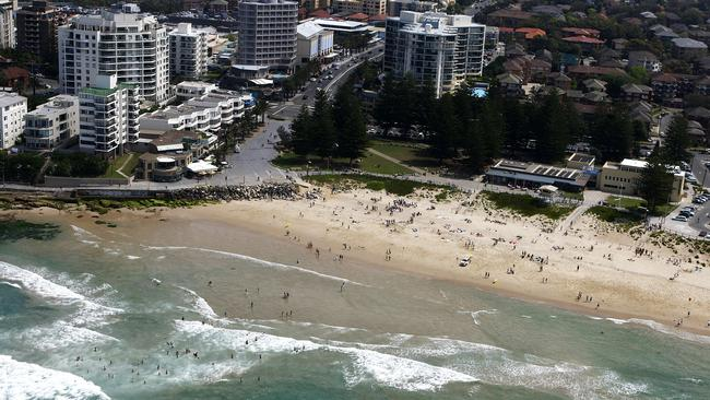 An aerial view of Cronulla, where house sellers have been cutting an average of 10.7 per cent off their original listed prices.