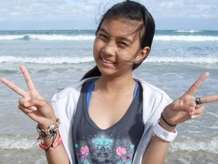 07/02/2011 NEWS: Copy picture of missing schoolgirl Siriyakorn 'Bung' Siriboon. (Supplied by her father Fred Patterson).
