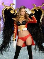 Victoria's Secret Fashion Show 2013: Angel Behati Prinsloo walks the runway at the 2013 Victoria's Secret Fashion Show. Picture: Getty