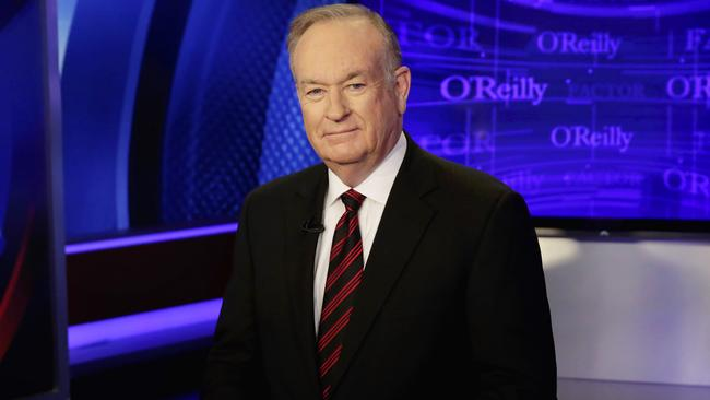 Bill O'Reilly of The O'Reilly Factor will not be returning to the Fox News Channel. Picture: AP