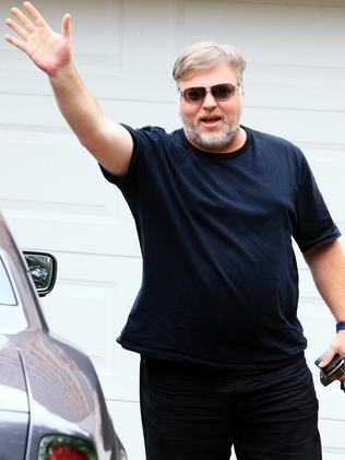 Now ... Kyle Sandilands admits he has gained weight. Picture: Adam Taylor