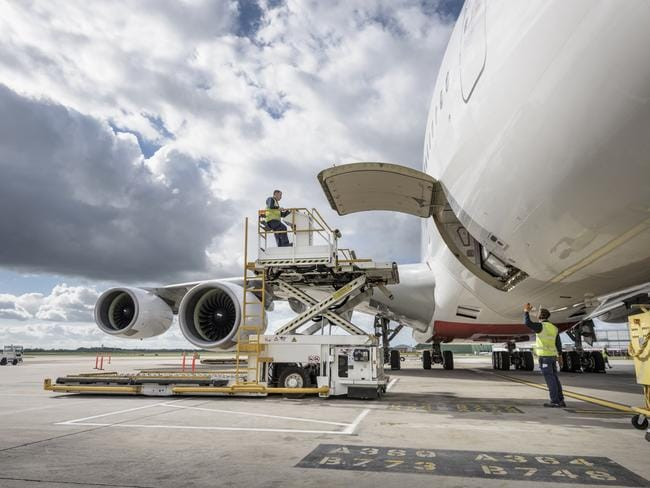 The future of the A380 looks uncertain.