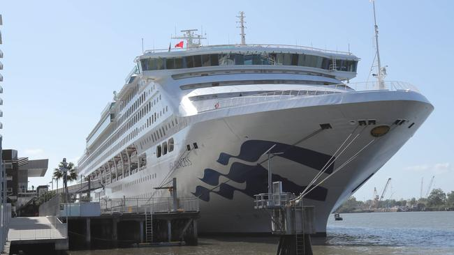 Sea Princess Docks In Brisbane After Gastro Outbreak On Cruise Ship - Where is the sea princess cruise ship now