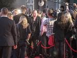 Brad Pitt arrives on the red carpet for the Australian premiere of World War Z at The Star in Sydney. Picture: Attila Szilvasi
