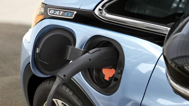 Plug in cars are not in demand in Australia but Holden thinks that will change next decade. Picture: Supplied.