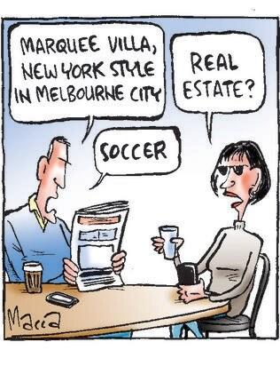Macca's view of Melbourne City signing soccer star David Villa.