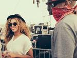 COACHELLA 2014: American performers, Beyonce and husband Jay-Z. Picture: Beyonce/Tumblr
