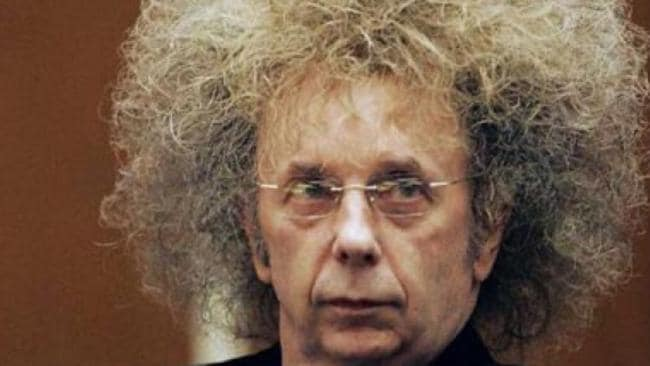 Producer, murderer and perm victim Phil Spector.