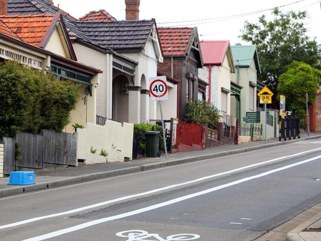 Go slow: Sydney and Melbourne values have taken a turn, down 1.4 and 3.5 per cent respectively.