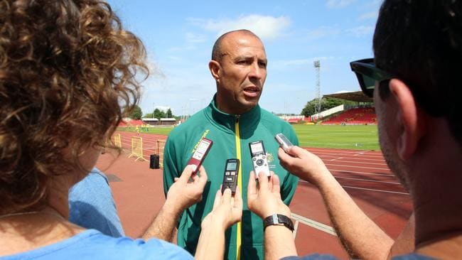 Athletics Australia head coach Eric Hollingsworth.