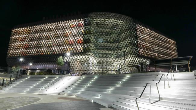 The SAHMRI building is already full. Pictue: Russell Millard/AAP