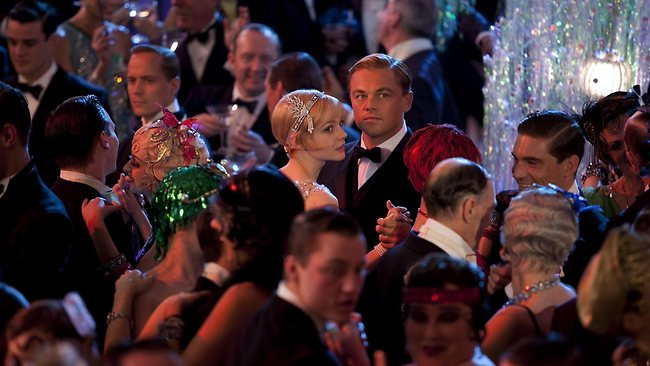 Leonardo DiCaprio and Carey Mulligan in a scene from Baz Luhrmann's The Great Gatsby. Picture: Warner Bros