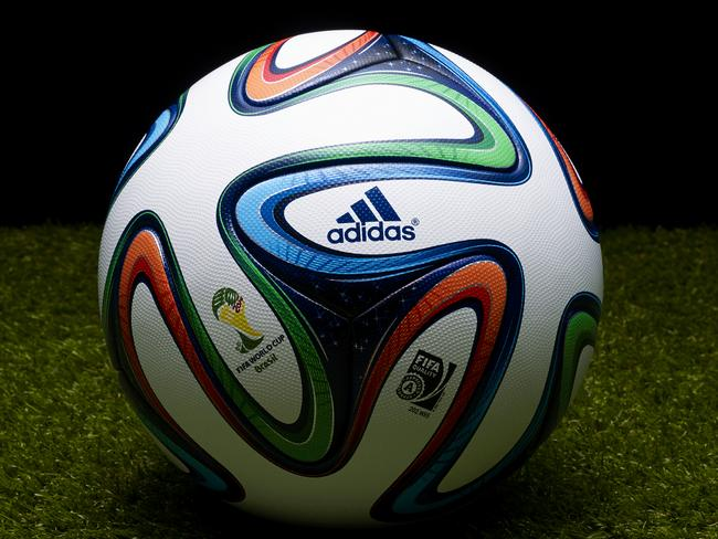 The adidas Brazuca has dimples and you don't. Because it's always cool.