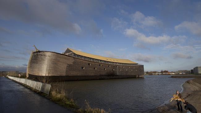 Noah's Brother's Ark Sets Sail