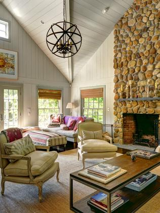 The Hamptons home of Naomi Watts and Liev Shreiber.