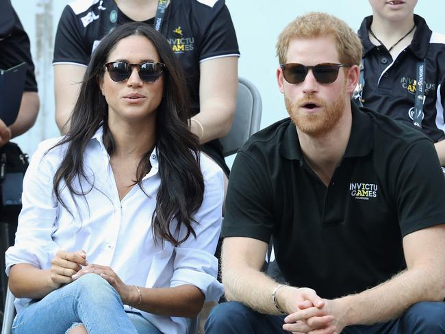 Prince Harry has taken Meghan Markle to meet the Queen, after she quit her job, prompting speculation they will announce their engagement. Picture: Chris Jackson/Getty Images for the Invictus Games Foundation