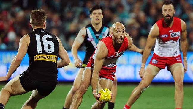 Jarrad McVeigh's name will certainly be discussed by All-Australian selectors. Picture: Getty Images