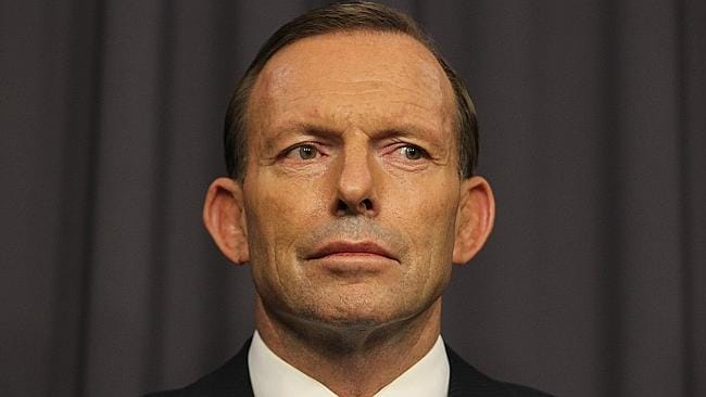 Tony Abbott announced the Government would not use taxpayers funds on a debt deal for Qantas.