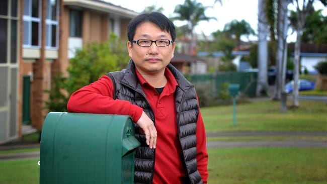 Jack Chang says his family hasn't received mail for the past three weeks in Amaranthus St. Photo: Renae Droop