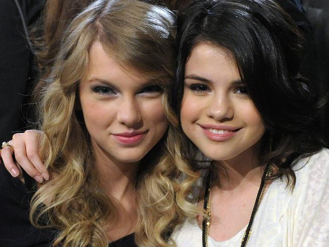 BFFs ... Taylor Swift (L) and singer Selena Gomez. Picture: Supplied