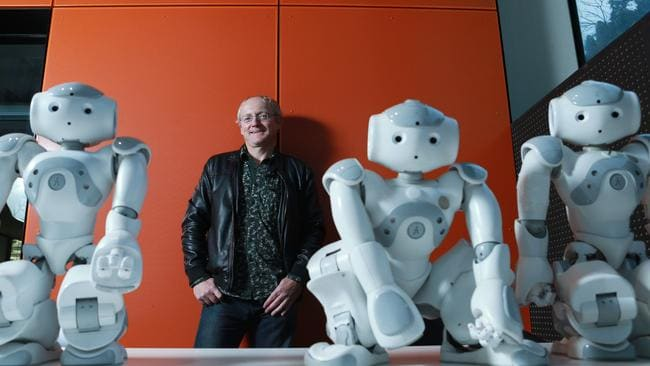 Professor Toby Walsh, professor in artificial intelligence at NICTA and the University of New South Wales. Picture: Britta Campion