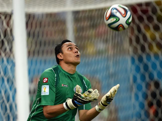Costa Rica's goalkeeper Keylor Navas has been excellent.