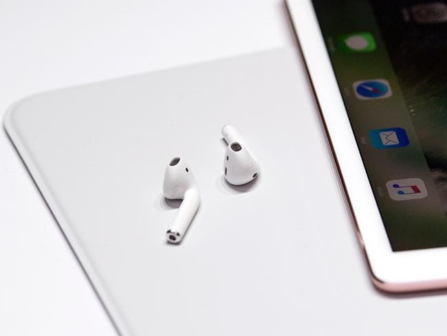 But the AirPods have scored a 98 per cent customer satisfaction, with 82 per cent of the nearly 1000 AirPod wearers surveyed saying they were very satisfied. Picture: AFP