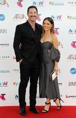 Sasha Mielczarek and Sam Frost at the 2015 Aria Awards held at The Star in Pyrmont. Picture: Christian Gilles