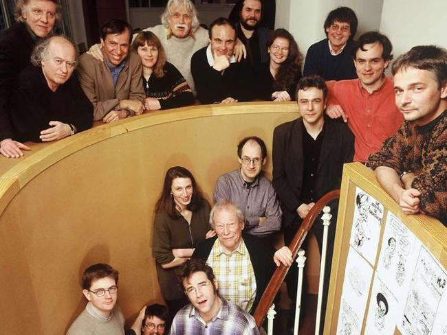The magazine staff pictured in 2000. Picture: Snapper Media.