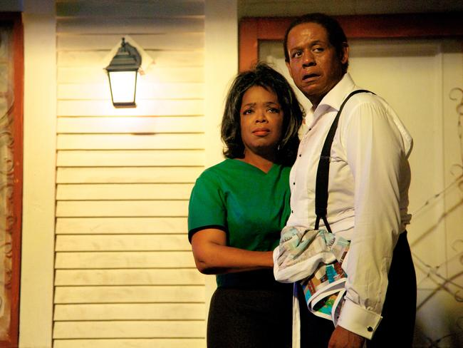 Oprah Winfrey and Forest Whitaker in a scene from The Butler.