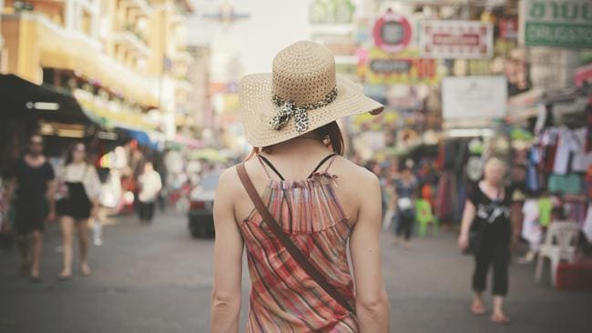 Escape from the routine to somewhere such as the famous backpacker street of Khao San in Bangkok.