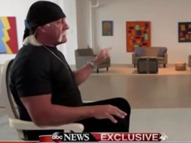 Good Morning America Home Invasion Interview : Good morning america interview hulk hogan tells us tv he