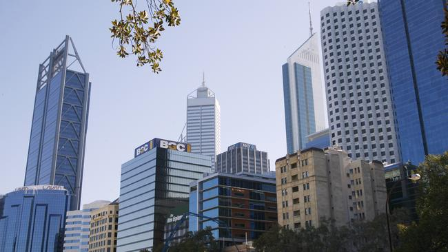 Perth is likely to have a sluggish few years as changes work through the resource-sector.
