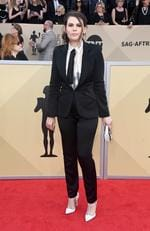Actor Clea DuVall attends the 24th Annual Screen ActorsGuild Awards at The Shrine Auditorium on January 21, 2018 in Los Angeles, California. Picture: Frazer Harrison/Getty Images