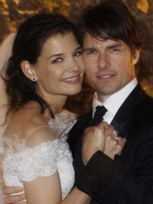 Upset ... Katie Holmes wrote Leah Remini up for her behaviour during her wedding, telling Scientology officials that she was dismayed by her actions. Picture: Supplied