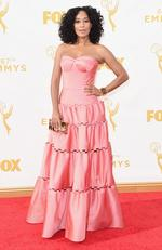 Tracee Ellis Ross attends the 67th Annual Primetime Emmy Awards in Los Angeles. Picture: Getty
