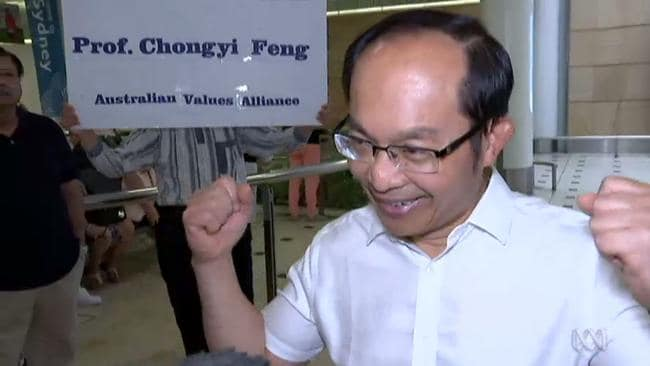Sydney professor Feng Chongyi has arrived back at Sydney Airport, Australia after being detained in China for a week and interrogated by authorities. SUPPLIED: ABC NEWS.