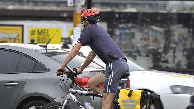 A 22-year-old man from Clontarf has been charged $750 for not wearing a bicycle helmet. (