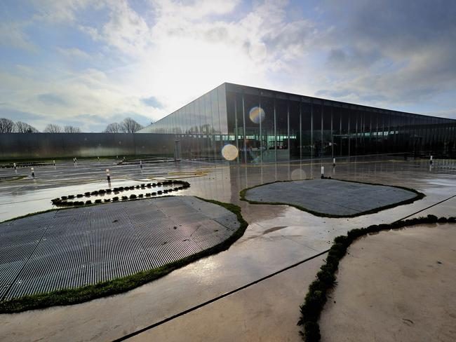 Le Louvre Lens museum in France is another SANAA design. Picture: PHILIPPE HUGUEN/AFP.