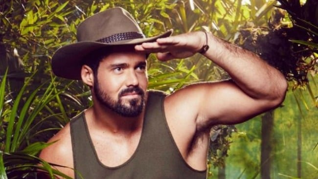 Spencer Matthews on I'm A Celebrity Get Me Out Of Here. Photo: ITV