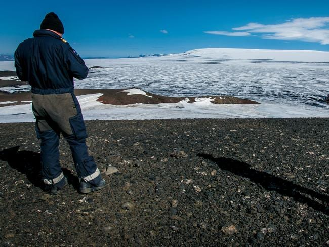 Iceland has lowered its alert over the nation's largest volcanic system.